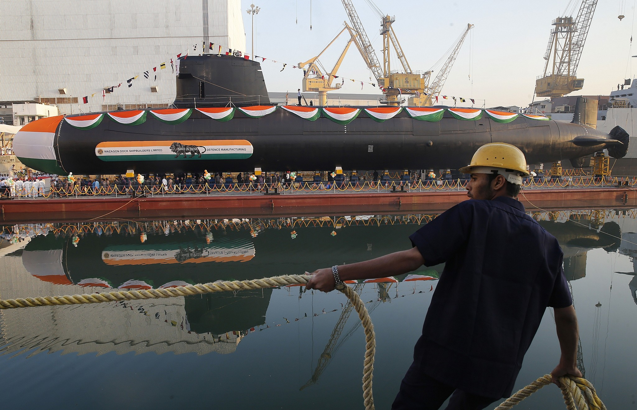 Indian nuclear submarine grounded after hatch left open