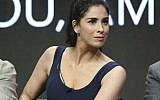 Star/executive producer Sarah Silverman participates in a panel during the Hulu Television Critics Association Summer Press Tour at the Beverly Hilton on Thursday, July 27, 2017. (Willy Sanjuan/Invision/AP)
