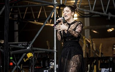 Lorde performs at the 2017 Outside Lands Music Festival in San Francisco, Calif.(Photo by Amy Harris/Invision/AP)