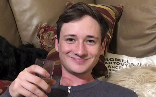 This undated photo provided by the Orange County Sheriff's Department shows murder victim Blaze Bernstein. (Orange County Sheriff's Department via AP)