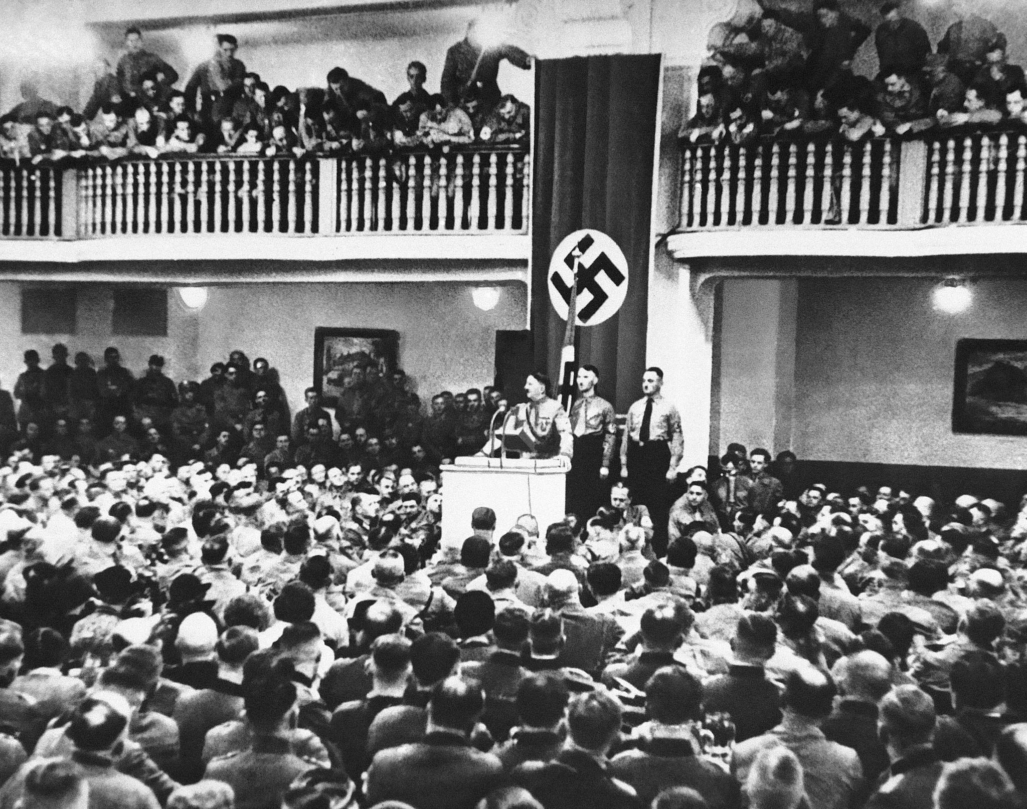 Beer putsch, November 9, 1923