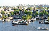 A view of Amsterdam (CC BY-SA Swimmerguy269/Wikipedia)