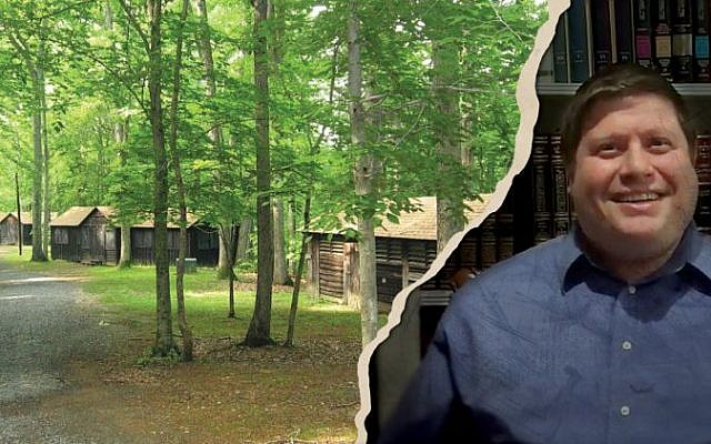 Rabbi Krawatsky (R) faces allegations for child sexual abuse at Camp Shoresh. He continues to work with children. (Camp Shoresh Pinterest/Youtube)