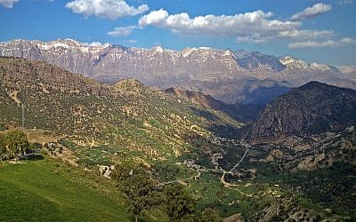 View of the Zagros Mountains. (Wikipedia/Vah.hem/CC BY)