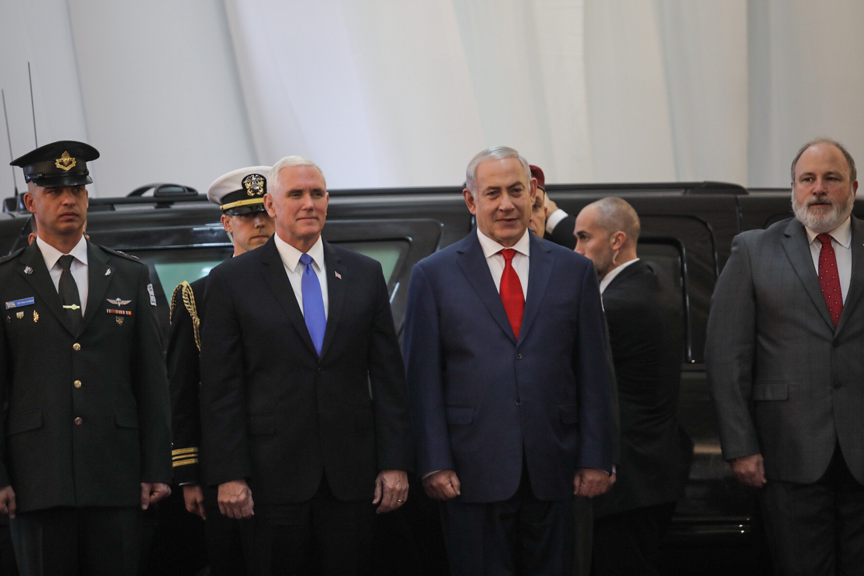 Netanyahu: Pence Making History as First VP to Address Knesset