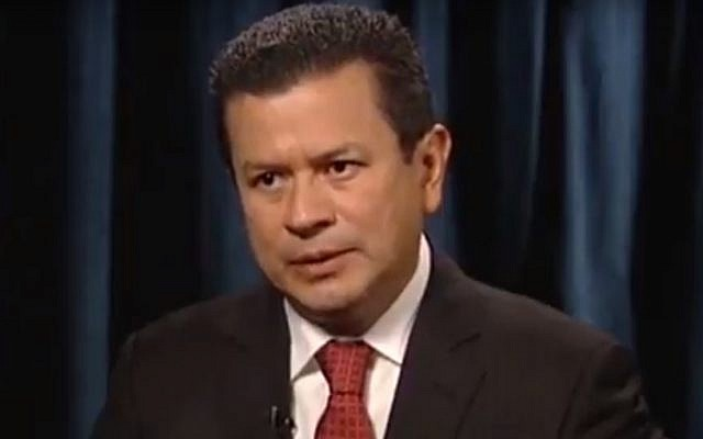 El Salvador's Foreign Minister Hugo Martinez (Screen capture: YouTube)