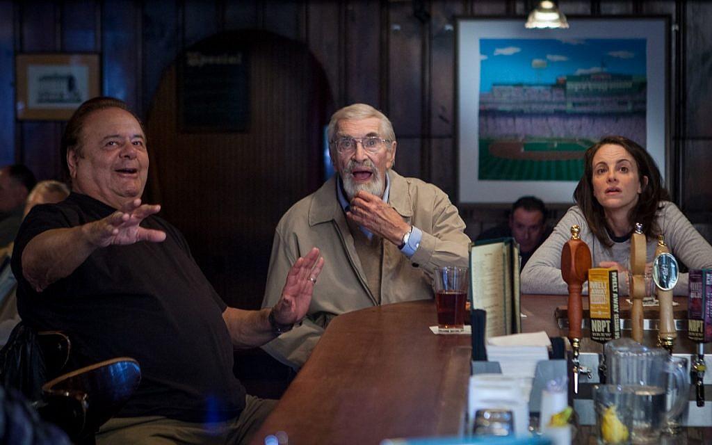 Paul Sorvino, Martin Landau and Maria Dizzia in 'Abe & Phil's Last Poker Game' (Courtesy Gravitas Ventures)