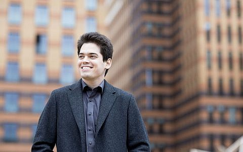 Lahav Shani who was appointed to succeed Zubin Mehta as the music director of the Israel Philharmonic Orchestra. (Courtesy Marco Borggreve)