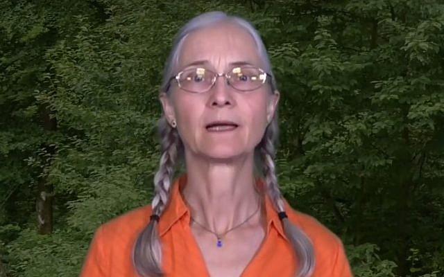 Monika Schaefer (Screen capture: YouTube)