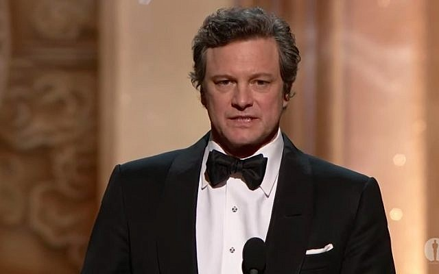 Colin Firth gives an acceptance speech at the Oscars after winning the award for best actor on March 3, 2011. (Screen capture/YouTube)