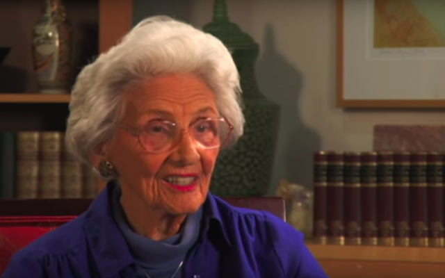 Connie Sawyer, Hollywood's oldest working actress, died at 105. (YouTube)