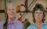 "Sisters Toni (R) and Donna Snow, hosts of the DIY Network show ""Texas Flip N Move."" (Screen capture: YouTube)"