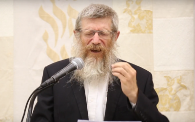Rabbi Tzvi Kostiner (Screencapture: YouTube)