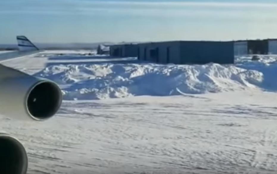El Al plane makes emergency landing in sub-zero temperatures in Canada