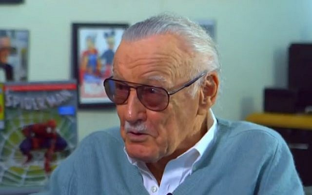 Stan Lee on NBC's Today Show in 2017 (YouTube screenshot)