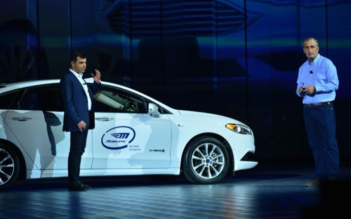 Intel's Mobileye secures order for self-driving tech for 8 million cars
