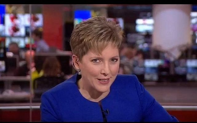 An undated image of former BBC China editor Carrie Gracie. (screen capture: YouTube)