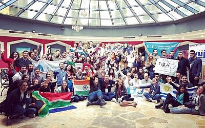 WUJS participants represented 36 different countries from around the world. (Photo credit: Dana Levinson Steiner)