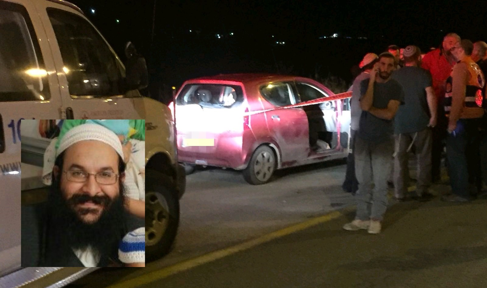 Search underway for suspects after fatal West Bank shooting of Israeli rabbi