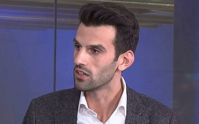 Udo Landbauer. (YouTube screenshot)