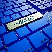 Illustrative image of high speed internet keyboard. (Murat Göçmen/iStock via Getty Images)