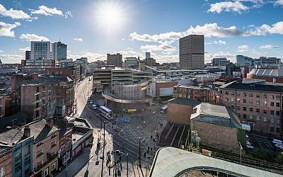 Illustrative image of Manchester city center. (SAKhanPhotography/iStock by Getty Images)