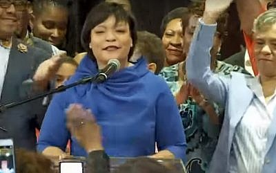 New Orleans Mayor elect LaToya Cantrelle. (YouTube screenshot)