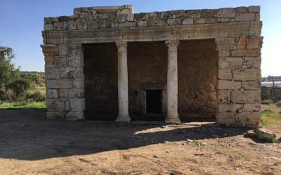 The Mazor mausoleum. (Marshall Brinn)