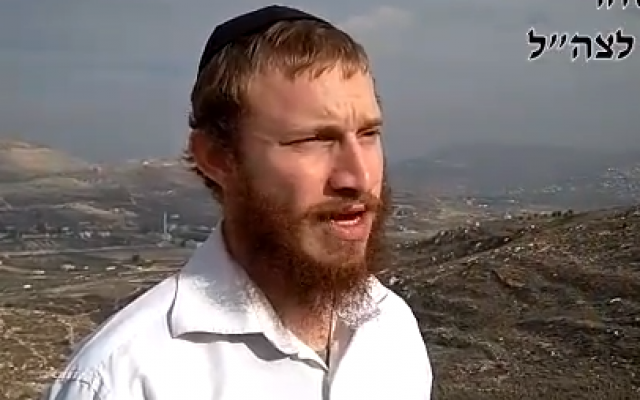 Oneg Hen Shahar explains why he decided to enlist in the IDF in a video uploaded to YouTube on December 6, 2017. (Screen capture/YouTube)