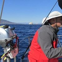 Ori Lahav, the co-founder of Outbrain, organizes a sailing trip once a year for tech entrepreneurs (Courtesy)