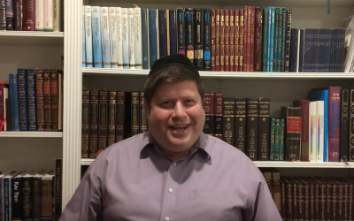 Rabbi Shmuel Krawatsky (Screenshot from YouTube)