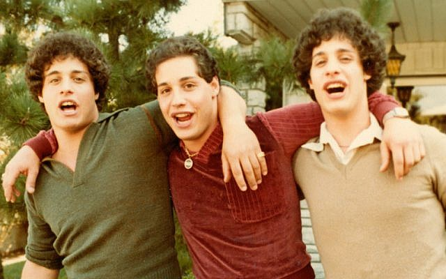 David Kellman, Eddy Galland and Bobby Shafran appear in Three Identical Stangers by Tim Wardle, an official selection of the U.S. Documentary Competition at the 2018 Sundance Film Festival. (Courtesy of Sundance Institute)