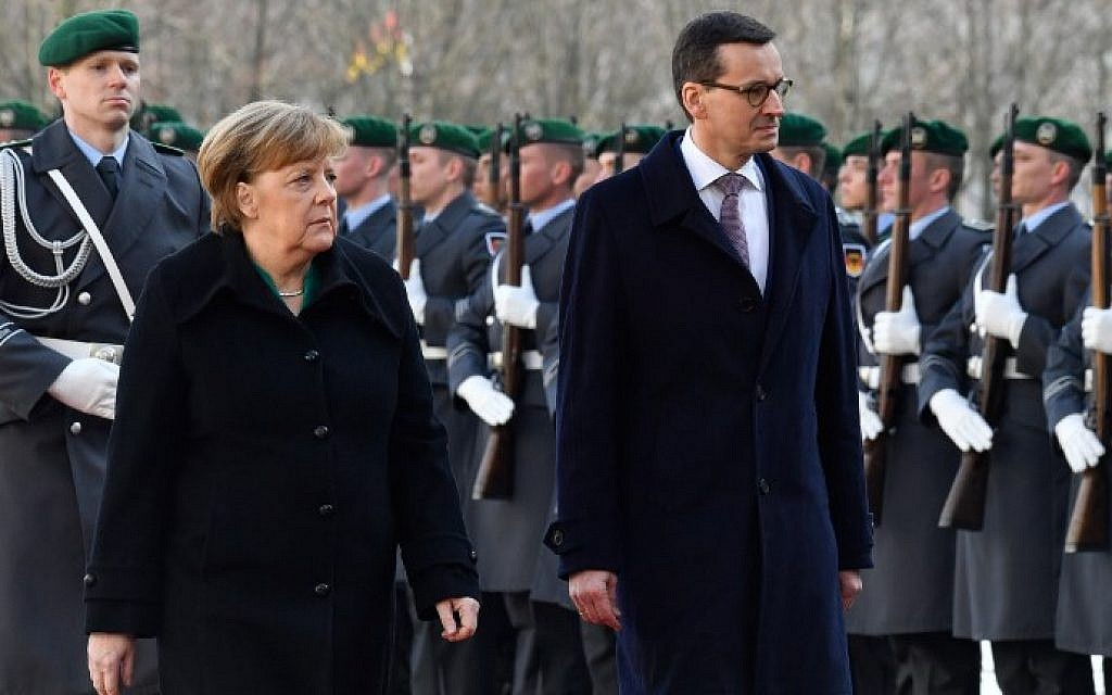 Polish PM: paying Holocaust property restitution would be 'victory for Hitler'