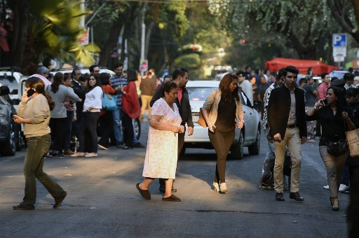 Magnitude-7.2 earthquake strikes south, central Mexico