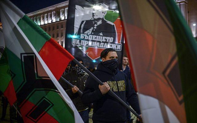 Far-right nationalists march through EU presidency capital Sofia