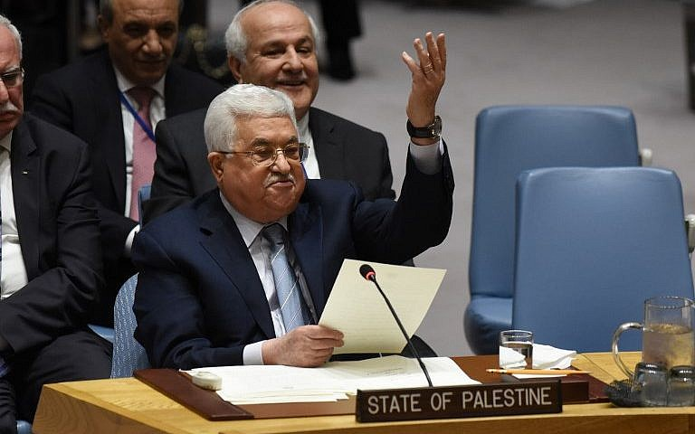 Abbas, in rare United Nations speech, calls for Mideast peace conference