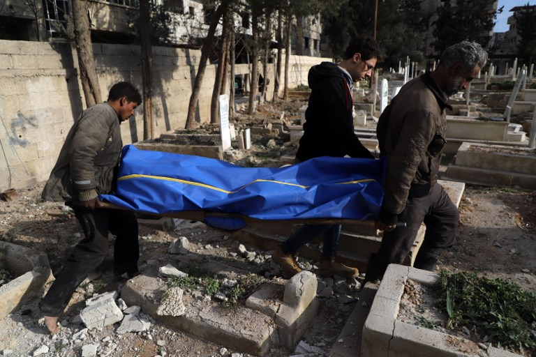 Eastern Ghouta: About 300 Killed in Three Days of Bombardment
