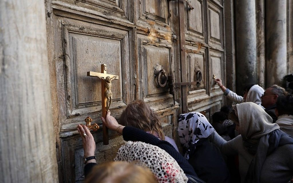 Jew Detector: Church Of The Holy Sepulchre To Reopen After Jerusalem
