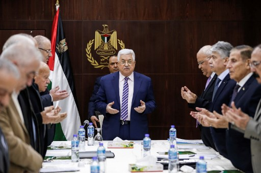 Palestinian Authority preparing to 'disengage' from Israel