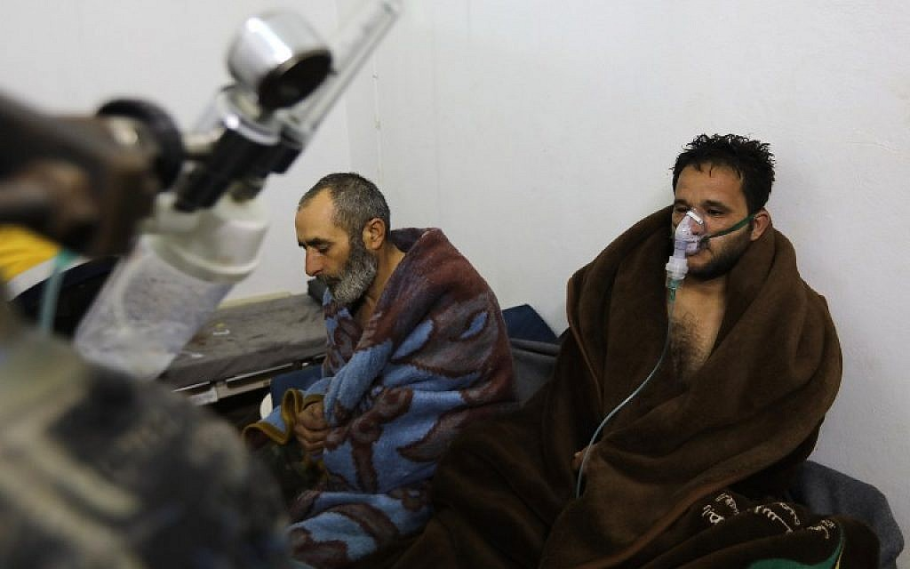 Chemical watchdog says chlorine likely used in February attack on Syrian town