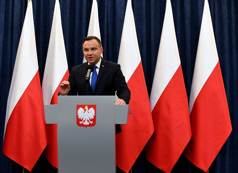 Warsaw to announces that he will sign into law a controversial Holocaust bill which has sparked tensions with Israel the US and Ukraine