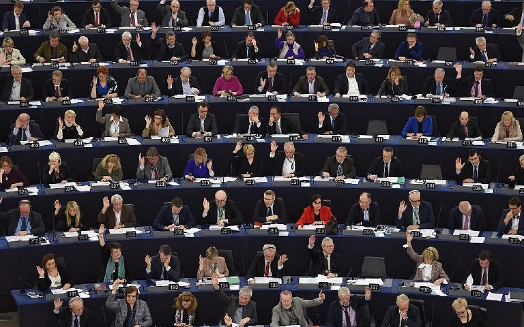 In first, European Parliament condemns Hamas for terror, use of human shields