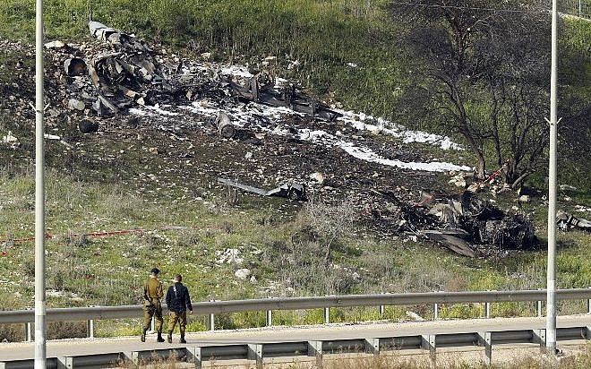 Israel blames F-16 downing in Syria operation on 'pilot error'