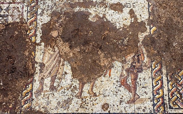 1800-year-old mosaic found in Israeli park