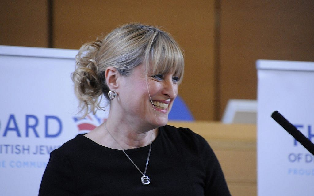 New British Board of Deputies president Marie van der Zyl. (Courtesy)