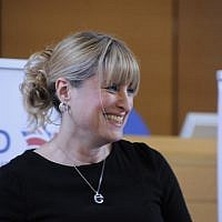 New British Board of Deputies president Marie van der Zyl. (Courtesy)