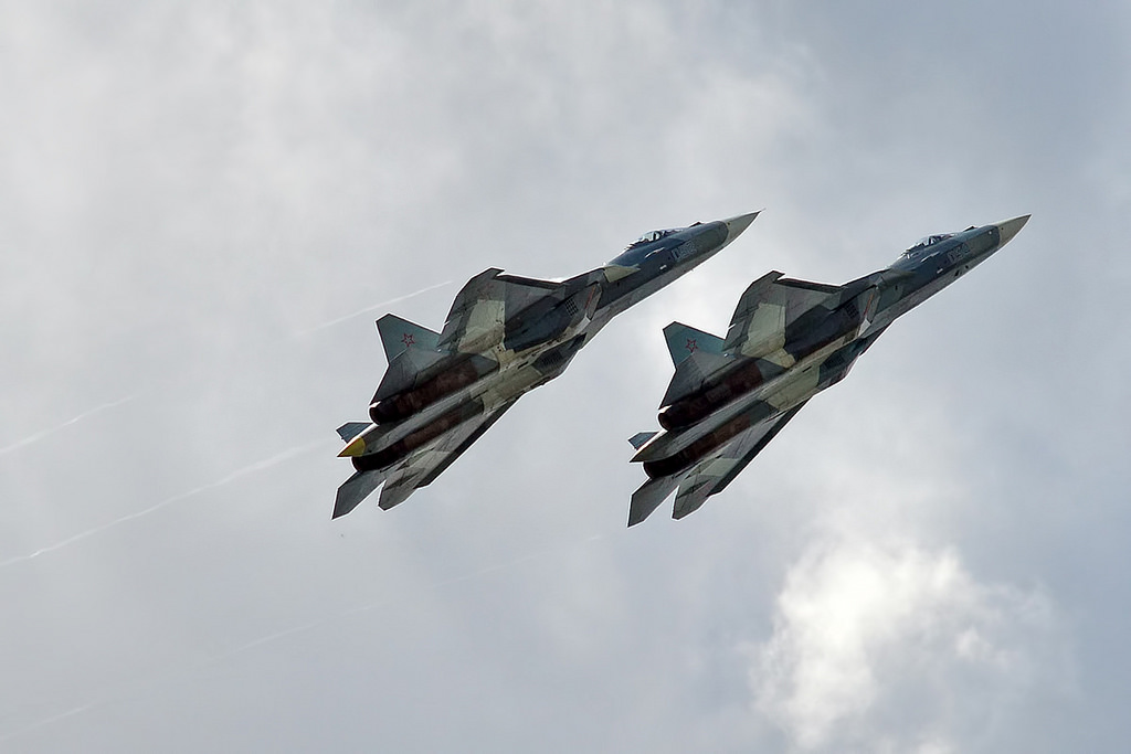Russian Federation  suspected of sending two fighter jets to Syria
