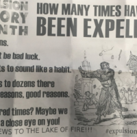 Anti-Semitic hate mail received by the Jewish community center in Windsor, Ontario, Canada, on Friday, February 16, 2018. (B'nai Brith Canada)