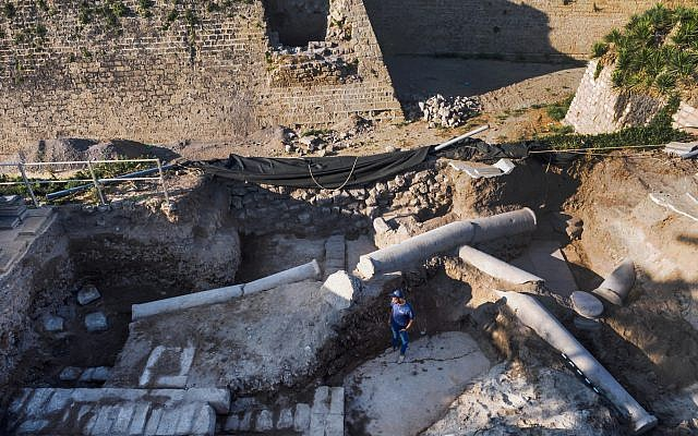Rare high-quality Byzantine-era Roman mosaic discovered in Israel