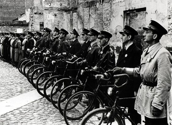 Illustrative: In the Warsaw Ghetto of occupied Poland during World War II, Nazi authorities appointed a Jewish police force to maintain order and carry out their orders. (public domain)